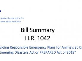 HR1042 PREPARED Act