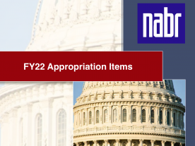 FY22 Appropriation Items