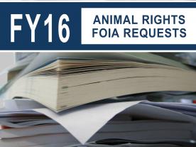 FY2016 FOIA Report