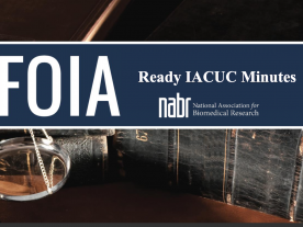 FOIA-Ready IACUC Minutes