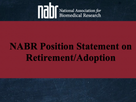 NABR Position Statement on Retirement/Adoption