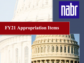 FY21 Appropriation Items